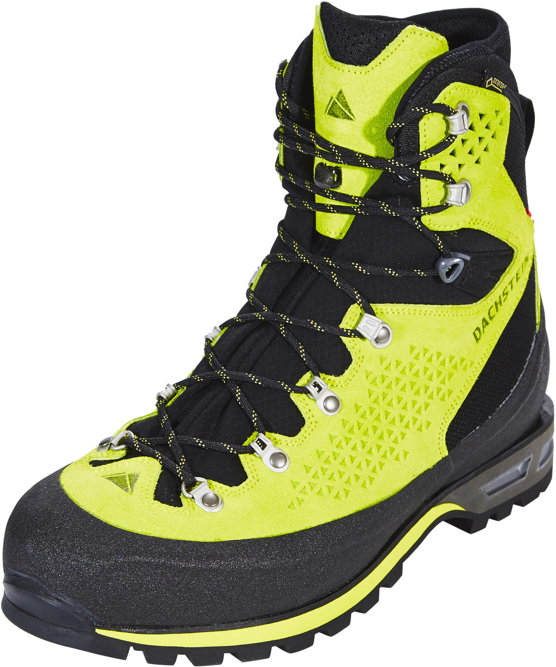 c05236a715fb Dachstein Stüdlgrat GTX Boots Men black/sulphur at Addnature.co.uk